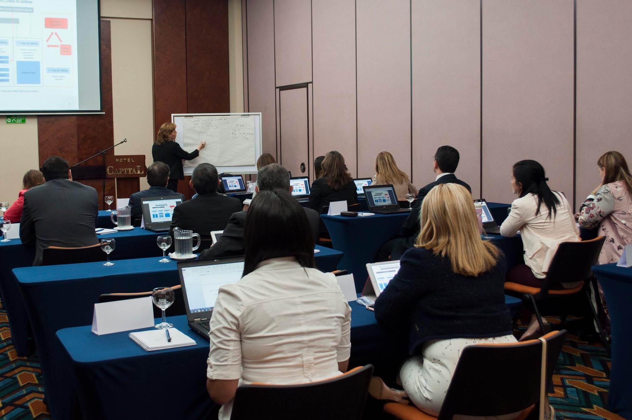 Curso Taller: COSO ERM: 2017 - ISO 31000: 2018 - 4 Líneas de Defensa y Herramientas Programadas - Perú